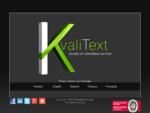 KvaliText - Translation Services