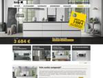 Kvik - muodin mukainen keittiö, kylpyhuone ja vaatekomero