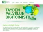 Digitoimisto KWD Digital | Drupal toteutuksiin erikoistunut digitoimisto