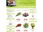 Kwiaciarnia internetowa , kwiaty, wiązanki, wieńce pogrzebowe, send flowers to poland, wysyłkowa