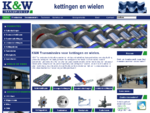KW Transmissies leverancier van industriële kettingen en wielen