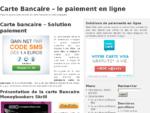 Carte Bancaire | Carte prépayée | Paiement en ligne