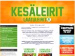 Laatuleirit. fi - Kesäleirit 2014