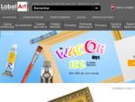 Label Art encadrement, toiles, mateacute;riel de peinture beaux-arts