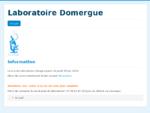 Laboratoire DOMERGUE - Laboratoire d'analyses médicales à Alès