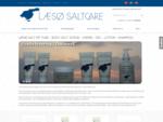 Forsiden Læsø Saltcare helse hudpleje hårpleje creme shampoo gel body lotion sart hud