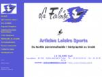 La Falaise - broderie, sérigraphie, flocage, vêtements personnalisés - Pompiers, Pétanque