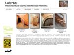 Laiptai - projektavimas, gamyba, montavimas, priežiūra