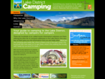 Lake District Camping Cumbria Campsites The Lakes, Keswick, Windermere, Ambleside, Ullswater