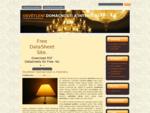 Osvětlení domácnosti a interiéru