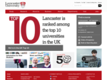 Lancaster University | Ranked in the Global Top 1