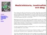 Landberga, medicinhistoria, skog och insektsalfabet
