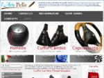 Rivestimenti Cuffie cambio Auto in Pelle, cuffia freno mano personalizzazioni cuffie cambio auto, ...