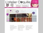 L'Atelier Coquille à Angers, Décoration d'intérieur