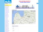 Latvijas karte. Latvijas pilsētu un rajonu kartes - Rīgas, Jelgavas, Liepājas, Valmieras, Vents