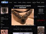laurettaperl-bijoux brodés haute couture perles swarovski pierres semi précieuses artisan d'art avig