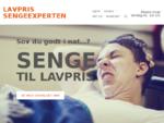 Lavpris Sengeexperten - Billige senge, 2. sortering og udstillingsmodeller