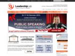 - Leadership LAB Training - Percorsi di formazione professionale, imprenditoriale e di crescita ...
