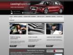 Leasing automobilů - Specialisté na leasingové služby!