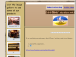0nline leather shop - leather studio mk1
