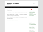 Ambasada Libanu-Witamy-Embassy of Lebanon-Welcome-1575;1604;1587;1601;1575;1585;1577;