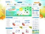 LECKA. net - Kontaktne leče na dosegu roke po AKCIJSKIH CENAH in BREZPLAČNO DOSTAVO.