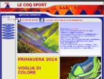 LE COQ SPORT Abbigliamento Sportivo Bologna