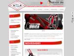 Fabricación y venta online de máquinas para gimnasio y porterías de fútbol sala. Disponemos de cana
