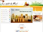 Vente miel de France, miel bio, geleacute;e royale, pollen, pain d039;eacute;pices artisanal, n