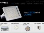 LEIDS - switch it on - LED-Leuchten und Leuchtmittel