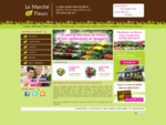 Le Marché Ô Fleurs - Fleuriste à Angers, Ancenis et Cholet - Livraison de fleurs Angers