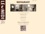 Le Midi – Chez Jean – Restaurant