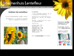 Welkom bij Lentefleur - Bloemenwinkel in Den Haag