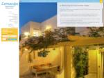 Leonardos Hotel - Naoussa - Paros island