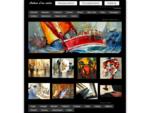 AUTOUR DUN CADRE - Galerie d039;art contemporain et encadrement. - AUTOUR D039;UN CADRE - Encadr