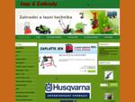 Zahrada a les - sekačky, zahradní traktory, motorové pily, Sněhová fréza , elektrocentrály, křov