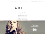 Hair Products Online - Letif