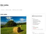 léto venku | cestovní web