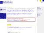LetterHouse Agentur fr Direktmarketing. Marketingassistenz, Telemarketing und Datenmanagement