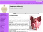 Leukespaarpotten. nl