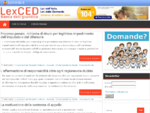LexCED, Banca dati giuridica