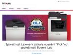 Tiskárny, toner a inkoust do tiskáren | Lexmark Českà¡ republika