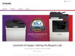 Skrivere, toner og skriverblekk | Lexmark Norge