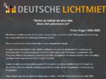 Energieeffiziente Beleuchtung mieten - Deutsche Lichtmiete - Energieeffiziente Beleuchtung mieten