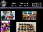 Home - Handmade Felt Gifts Accessories - Handgefilzte Geschenke Accessoires
