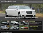 Limo Hire Melbourne | Wedding Limousines | Wine Tours | Formals