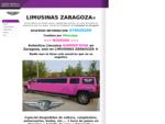LIMUSINAS ZARAGOZA - LIMUSINAS EN ZARAGOZA - ALQUILER DE LIMUSINAS EN ZARAGOZA