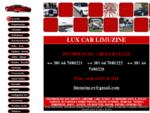 Lux Car Limuzine Beograd, iznajmljivanje limuzina beograd, limo servis beograd, limo service belg