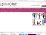 Linhachic Home page Shop online de Perfumes, Roupa, Lingerie, Sex Shop, jogos ..