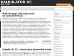 Kalkulator OC